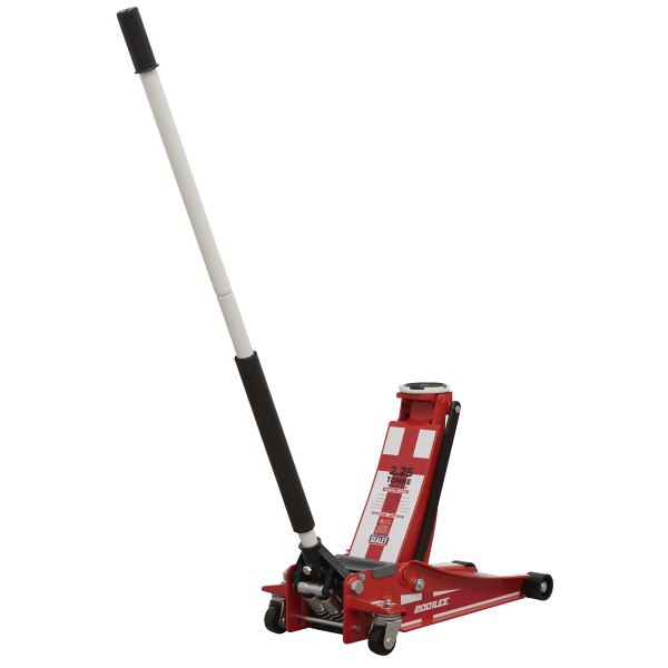 Sealey Trolley Jack 2.25 Tonne Low Entry Rocket Lift with St. George's Flag