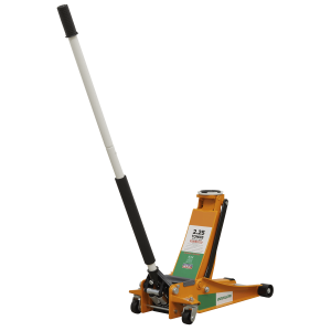 Sealey Trolley Jack 2.25 Tonne Low Entry Rocket Lift with Republic of Ireland Flag