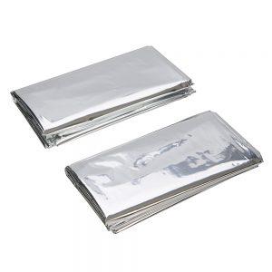 Silverline Emergency Blanket 2pk