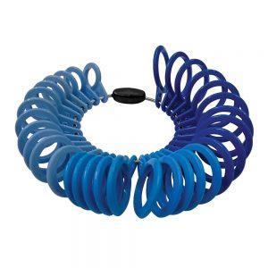 Silverline Plastic Ring Sizer Set 32pce