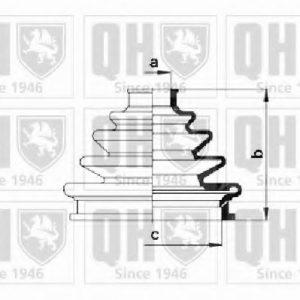 Quinton Hazell CV Boot Kit QJB460