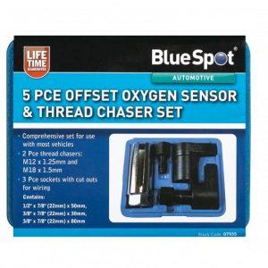 BlueSpot 5 PCE Oxygen Sensor & Thread Chaser Set