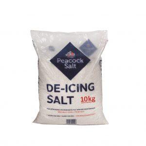 White De-icing Salt 10kg Bag