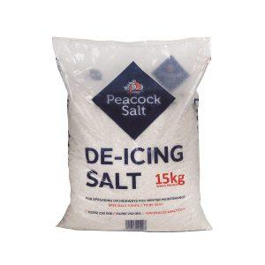 White De-icing Salt 15kg Bag