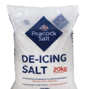 White De-icing Salt 20kg Bag