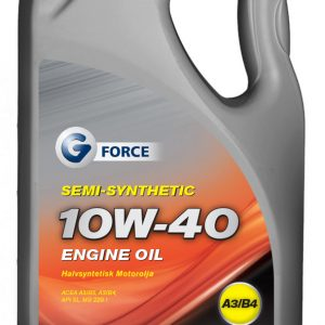 G-Force 10W-40 Semi Synthetic Engine Oil 5L