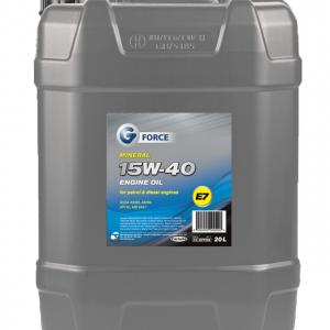 G-Force 15W-40 A3/B4 Mineral Engine Oil 20L