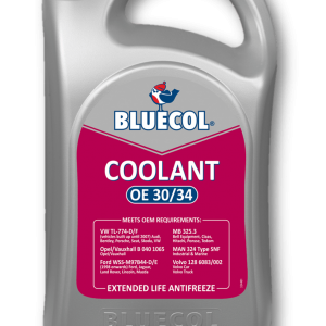 Bluecol Extended Life Coolant OE 30/34 5L
