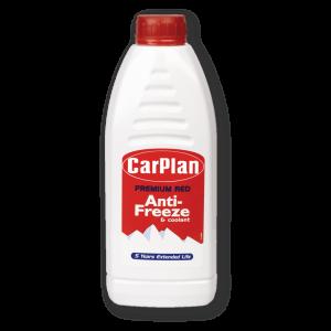 CarPlan Premium Red Antifreeze & Coolant 1L