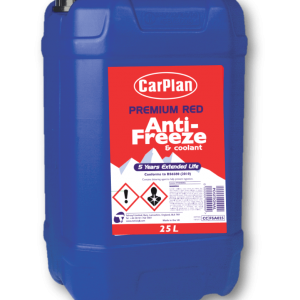 CarPlan Premium Red Antifreeze & Coolant 25L