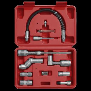 Sealey Grease Gun Adaptor Kit 12pc