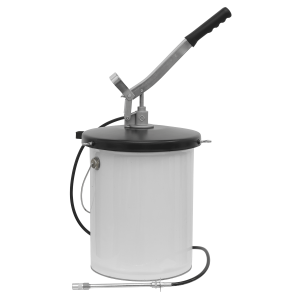 Sealey Bucket Greaser with Follower Plate 12.5kg Extra-Heavy-Duty