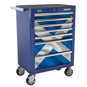 Sealey 7 Drawer Rollcab Kit with Scotland Graphics