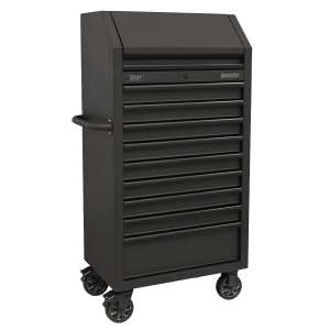Sealey Tower Cabinet 9 Drawer 690mm with Soft Close Drawers & Power Strip