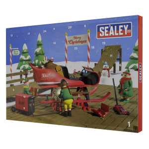 Sealey Ratchet, Socket & Bit Set 39pc Advent Calendar