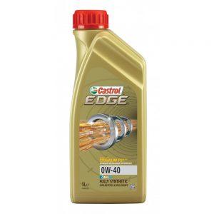 Castrol CET041 Edge Titanium FST 0W-40 Fully Synthetic Engine Oil 1L